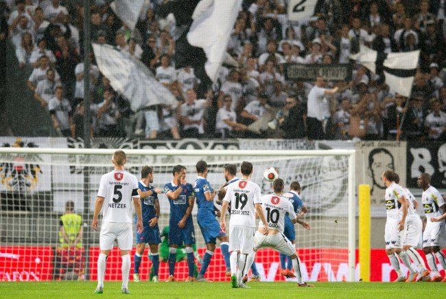 SCR Altach muss sich in der Europa League mit 1:0 geschlagen geben.