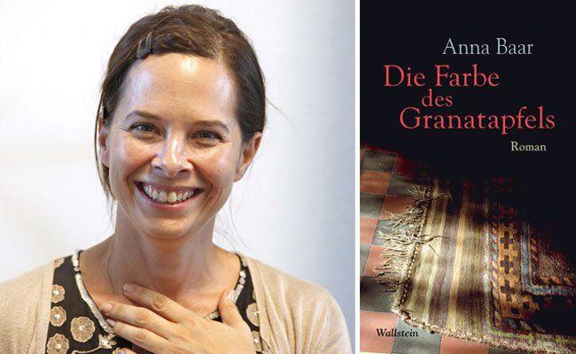 """""""Die Farbe des Granatapfels"""" ist der erste Roman von Anna Baar"""