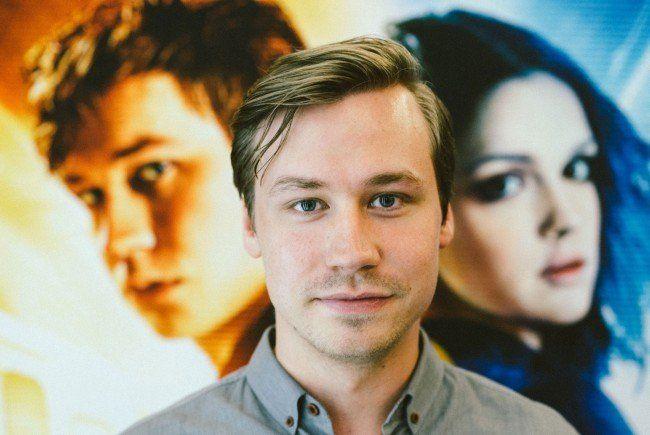 David Kross bei der Premiere seines Films Boy 7.