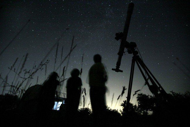 Spektakel am Himmel - weniger Sternschnuppen als erwartet