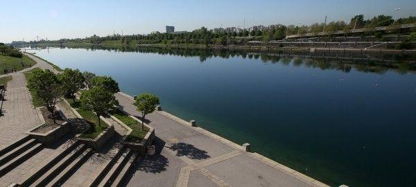 Zu einem tödlichen Badeunfall kam es auf der Donauinsel