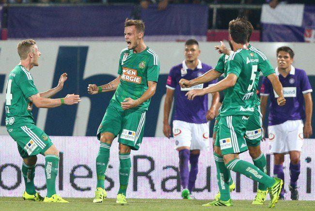 314. Wiener Derby: Rapid Wien fertigte Austria mit 5:2 ab
