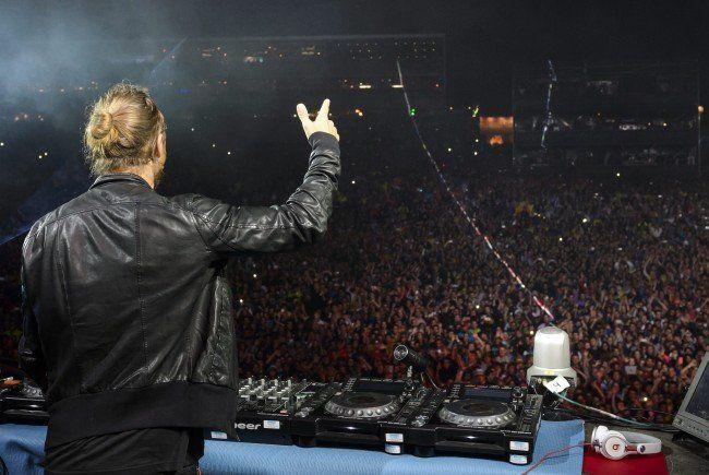 David Guetta ist der Headliner am Lake Festival 2015 in der Steiermark.