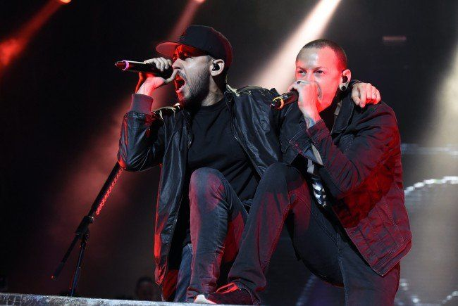 Linkin Park auf der Space Stage am FQ-Finaltag