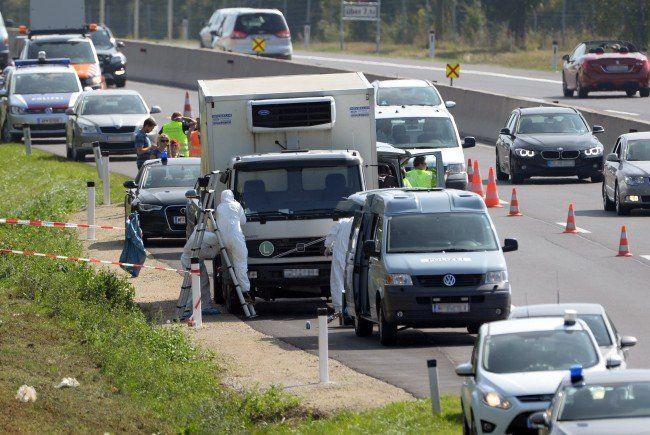 Nach dem Lkw-Fund auf der A4 sind die Behörden nun dem Fahrzeughalter auf der Spur.