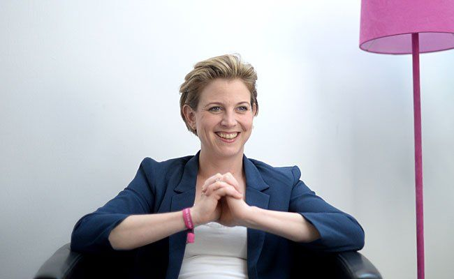 Beate Meinl-Reisinger, NEOS-Spitzenkandidatin, gab Persönliches preis