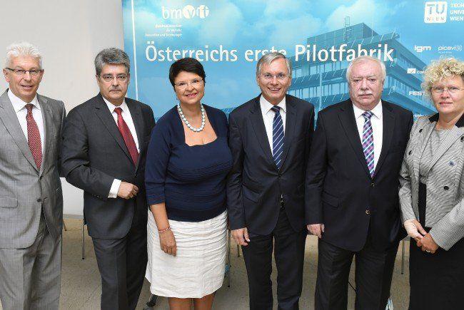 Die Modell- und Forschungsfabrik entsteht in Wien-Aspern.