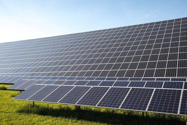 Über Solarenergie.