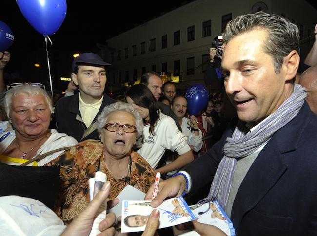 Wahlkämpfen am Viktor Adler Markt : Die FPÖ setzt wie schon 2010 auf Bewährtes