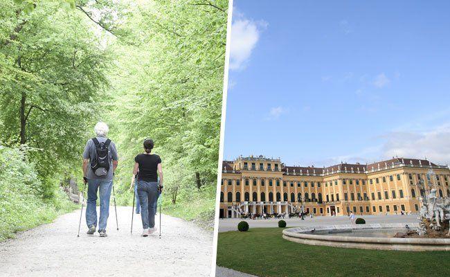 Hietzing ist vor allem als Nobelbezirk mit viel Grün bekannt.