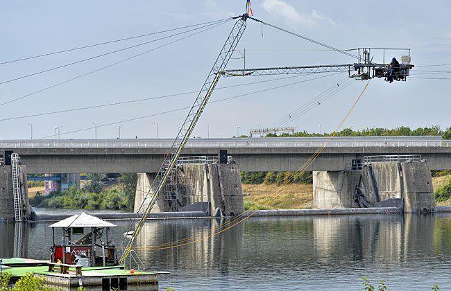 Wakeboard-Lift an der Neuen Donau wieder geöffnet