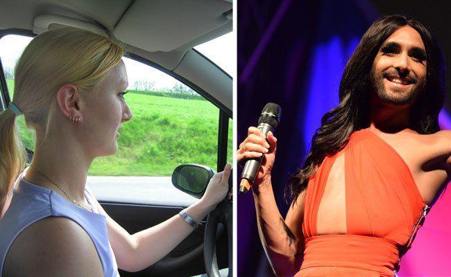 """""""Unstoppable"""" fühlen sich Autofahrer anscheinend bei Pop-Musik von Conchita Wurst und Co."""
