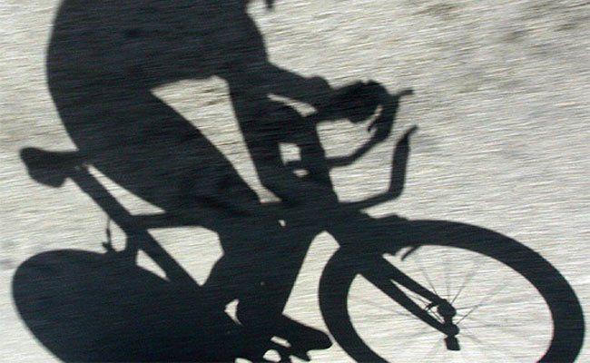 Auf einem Mountainbike machte sich der Bankräuber davon.