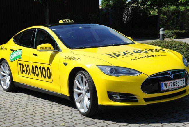 Das war Wiens erstes E-Taxi - viele weitere sollen folgen.