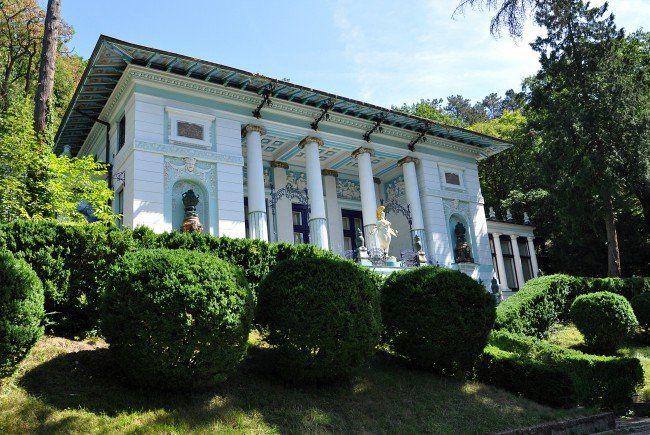 Die Otto-Wagner-Villa im 14. Bezirk.