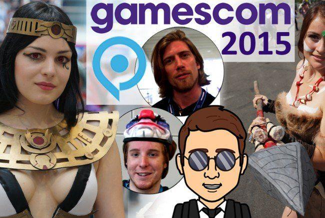 Heiße Spiele-News und sexy Cosplayer: Ländle-Gamer auf der gamescom 2015.
