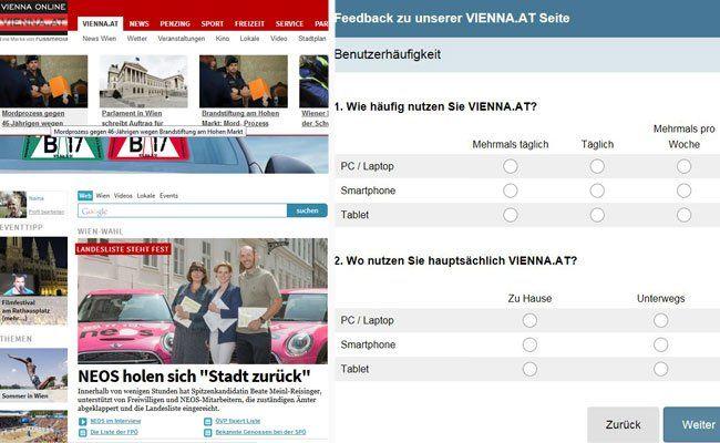 VIENNA.at befragt die Leser