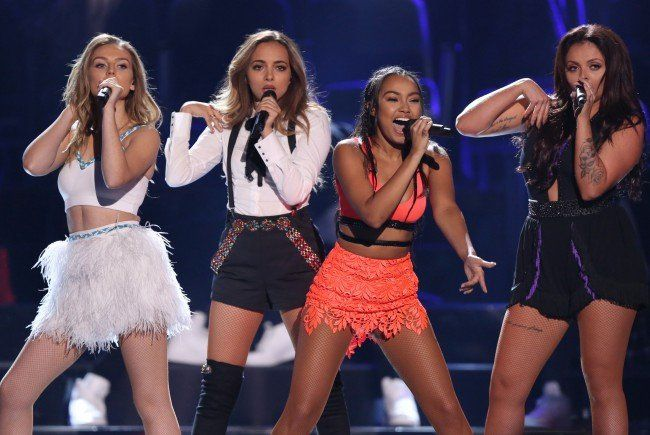 "Die Gruppe ""Little Mix"" bei ihrer Performance der Teen Choice Awards 2015."