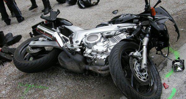 Mehrere Biker waren in Unfälle verwickelt