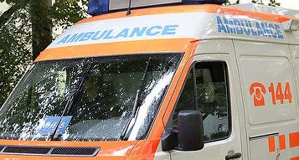 Die verletzte Frau musste aus einem Schacht gerettet werden