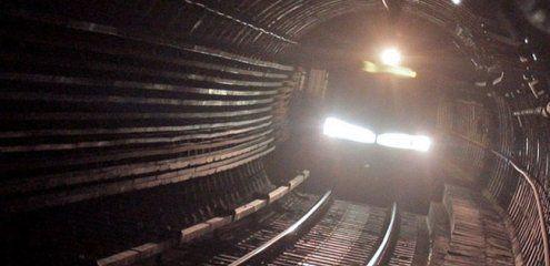 Von U-Bahn überrollt: Unverletzt