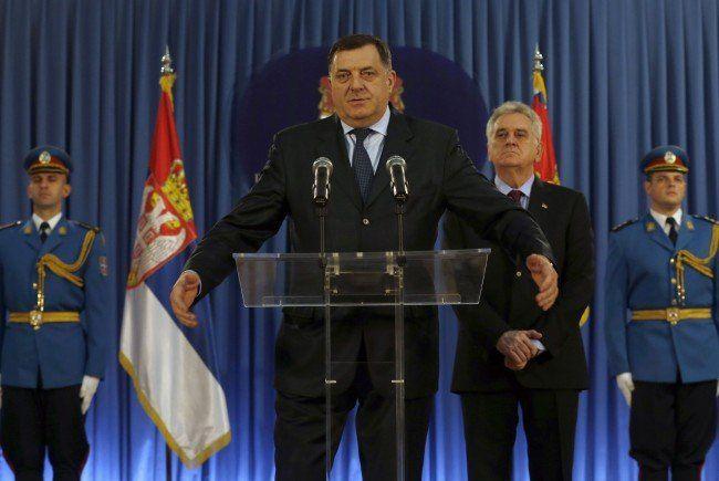 Milorad Dodik ist bald auf Wien-Besuch.