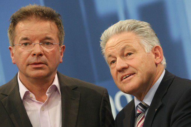 Josef Pühringer (ÖVP) hat noch keinen Koalitionswunsch geäußert.