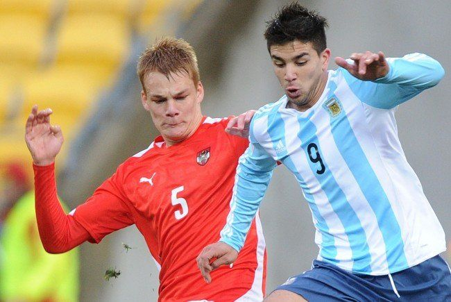Philipp Lienhart (l.) war im Sommer bei der U20-WM im Einsatz.