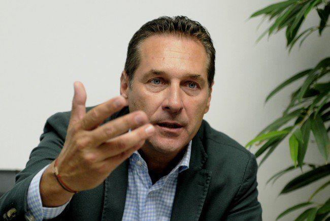 Heinz-Christian Strache könnte vor Gericht müssen.