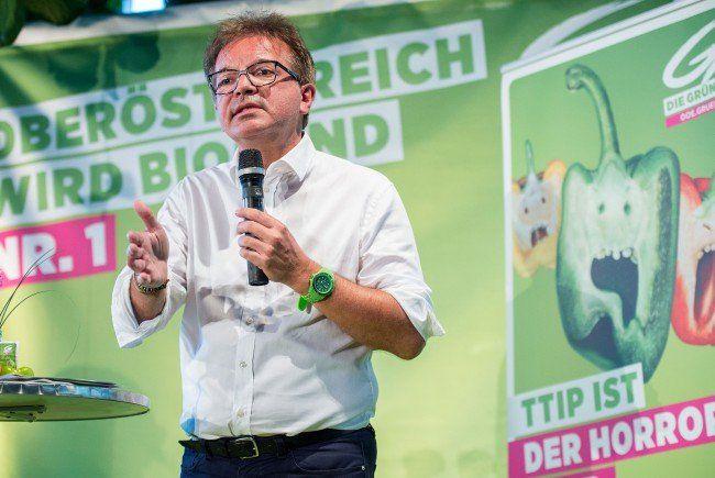 DIe Grünen müssen bei der Landtagswahl in Oberösterreich zulegen.