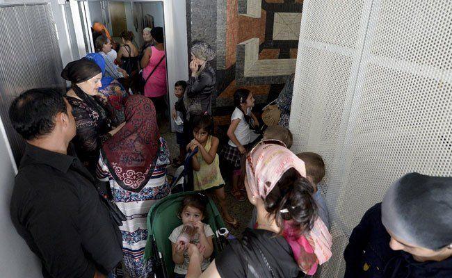 Rund 700 Asylanträge wurden seit Freitag in Österreich gestellt.