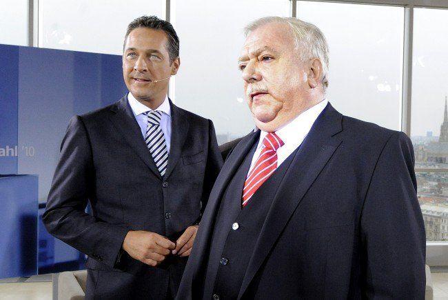 """""""Duell"""" stärkt Häupl und Strache"""