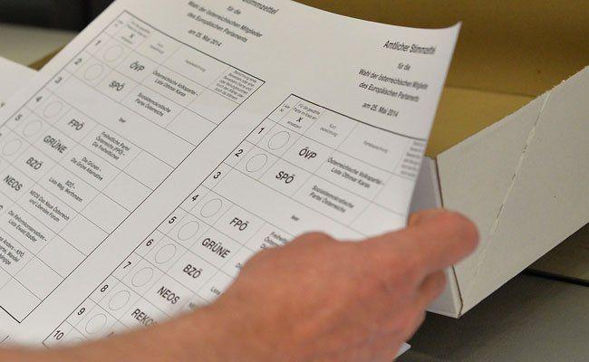 Demnächst gehen die Stimmzettel zur Wien-Wahl in Druck.