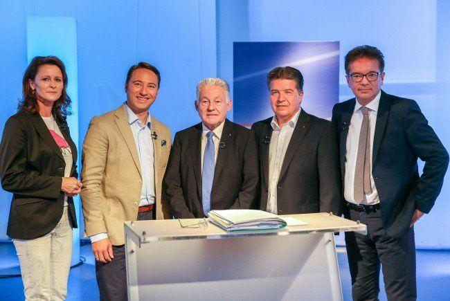 Die Spitzenkandidaten zur OÖ-Wahl 2015.