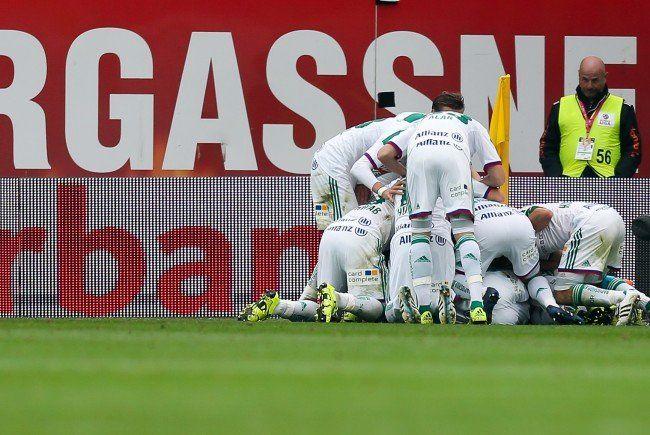 Die Stimmen zum Spiel nach dem Last-Minute-Sieg von Rapid Wien über Ried.