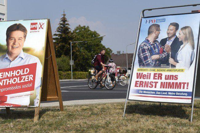 Im oberösterreichischen Landtag werden nach der Wahl neue Gesichter erwartet.