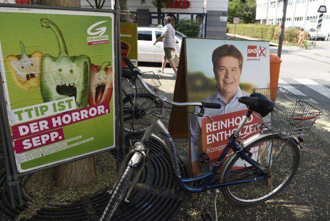 Das sind die Ausgangslagen, Ziele und Chancen ver Parteien bei der OÖ-Wahl 2015.