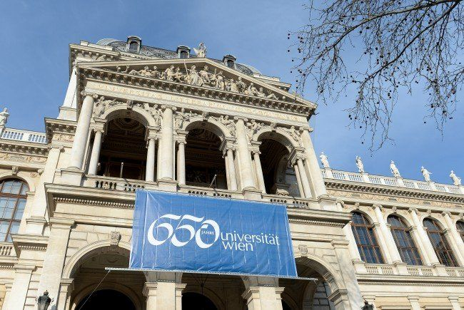 Heute wird die Ausstellung zur Geschichte der Wiener Uni eröffnet.