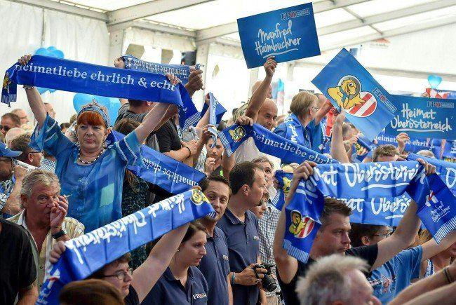 Der Welser Gemeinderat wird blau.