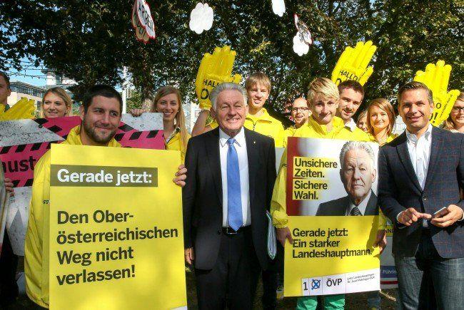 Das Wahlkampffinale der ÖVP vor dem Urnengang am Sonntag.
