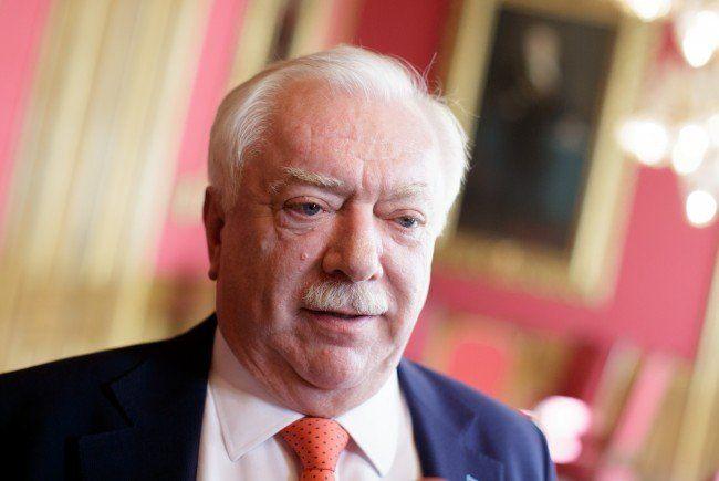 Michael Häupl sieht der Wien-Wahl optimistisch entgegen.