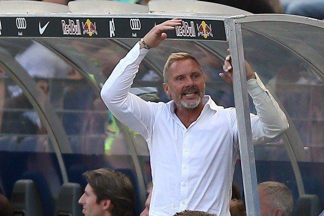 Thorsten Fink verlor mit seiner Austria in Graz.