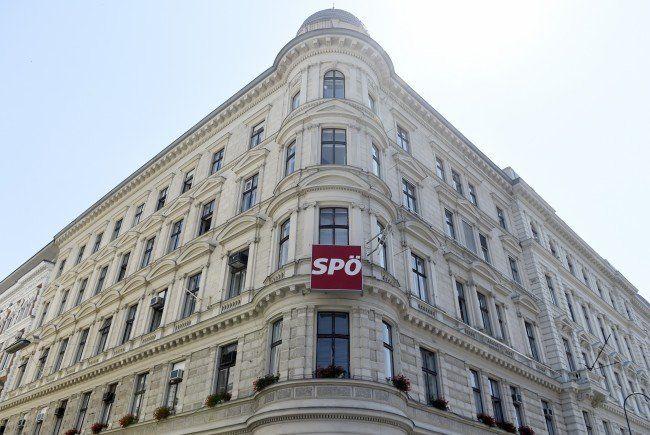 Noch ist kaum etwas los in der Wiener Löwelstraße.