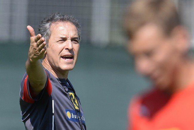 Teamchef Marcel Koller gibt die Richtung vor.