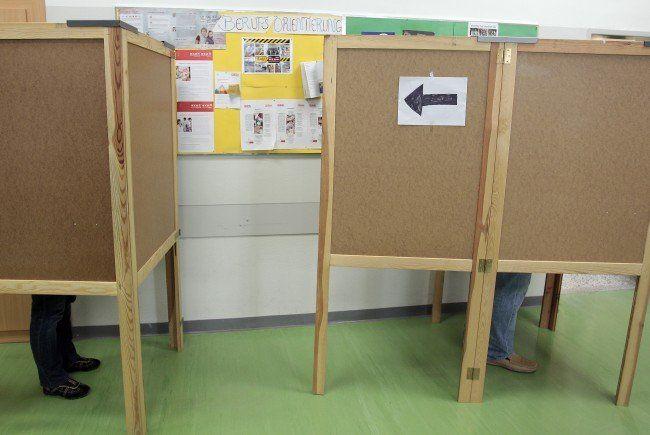 Am 11. Oktober geht es in die Wahlkabinen.