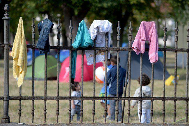 Flüchtlinge - Belagstand in Traiskirchen weiter leicht rückläufig