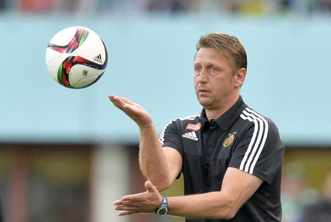 Zoran Barišić gastiert mit Rapid in Ried.