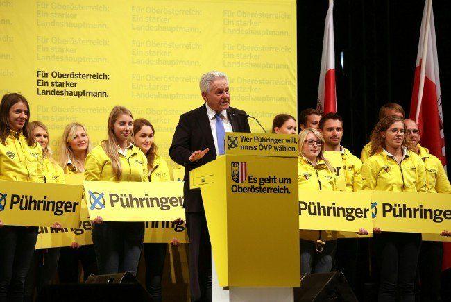 ÖVP Oberösterreich feierte Wahlkampfabschluss mit 15.000 Besuchern in Linz.