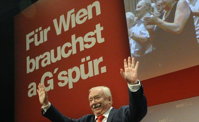 Michael Häupl will weiter Bürgermeister in Wien bleiben