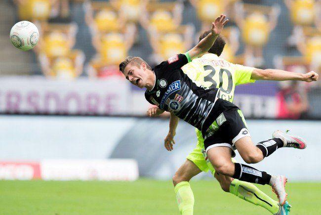 Austria Wien musste sich Sturm Graz mit 0:2 geschlagen geben.